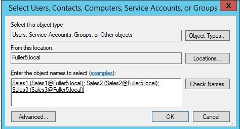 Manage Active Directory